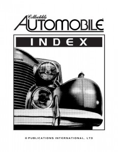 CA Index Cover