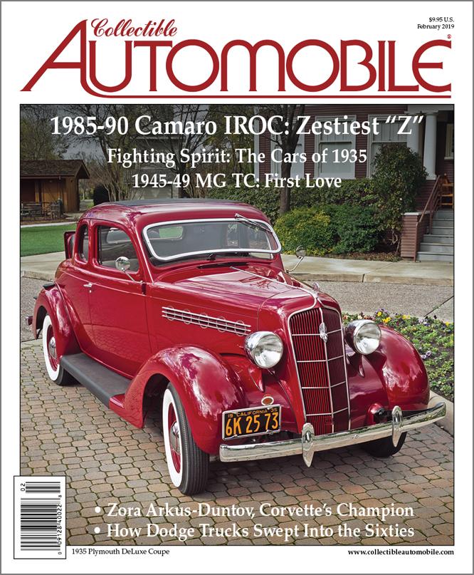 collectible automobile magazine the premiere magazine devoted to
